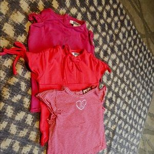 JUICY COUTURE , DKNY ,3 piece t-shirts,